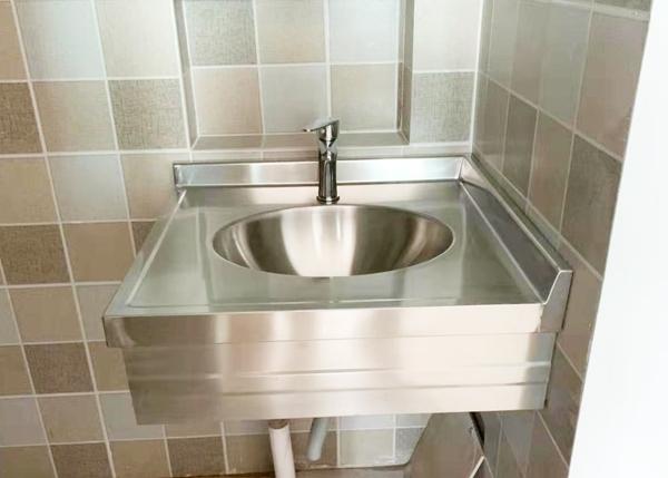 方形不锈钢洗漱台工程