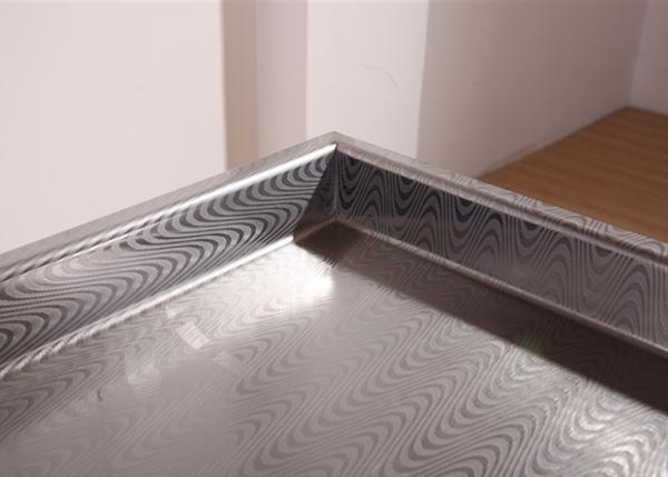 布纹不锈钢台面