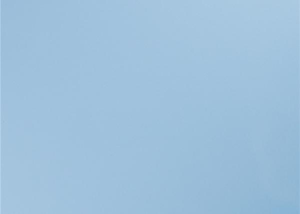 天蓝色覆膜门板