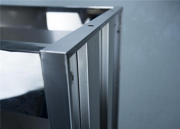 单层网纹不锈钢柜体