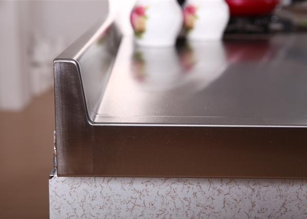 不锈钢台面后挡水